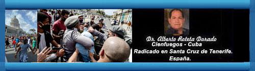 EL 11 DE JULIO, UN ANTES Y UN DESPUÉS. Por el Doctor Alberto Roteta Dorado.              CubaDemocraciayVida.ORG                                                           web/folder.asp?folderID=136