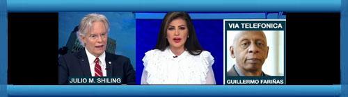 VIDEO: Reacción de EEUU al Levantamiento Popular en Cuba. La periodista Marián de la Fuente con el opositor Guillermo Fariñas y Julio M. Shiling analizan la reacción de la administración Biden, la ONU, la OEA y el Papa ante el levantamiento popular.       CUBADEMOCRACIAYVIDA.ORG                                                                                                                                                      web/folder.asp?folderID=136