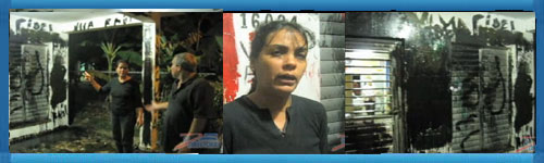 Video document: Repudiation actions against Cuban woman in the resistance. Even school children were forced to participate in these dirty and violent actions.web/folder.asp?folderID=215