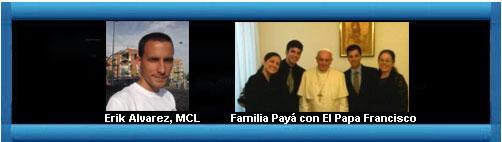 Circula entre católicos cubanos carta que la familia Payá entregó al Papa.  web/folder.asp?folderID=136