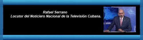 VIDEO-Nota de Prensa: Rafael Serrano, locutor del Noticiero Nacional de la Televisión Cubana, reaparece y da la noticia de la muerte de Fidel Castro. cubademocraciayvida.org web/folder.asp?folderID=136