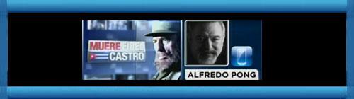 VIDEO. Entrevista de Ambrosio Hernández y Sandra Peebles al Caricaturista Editorial cubano radicado en Miami: Alfredo Pong en vivo el 26 de Nov.2016. Canal 23 Univisión. cubademocraciayvida.org web/folder.asp?folderID=136
