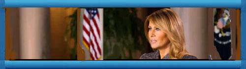 VIDEO: VIDEO: Doblado en español, el mensaje de la Primera Dama de los EE.UU, Melania Trump, desde La Casa Blanca.                   Cuba Democracia y Vida.ORG                                                                                                                                                                          web/folder.asp?folderID=136