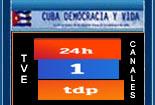 TELEVISI�N ESPA�OLA EN VIVO. TRES CANALES EN DIRECTO: CANAL 24H, CANAL 1 DE LA TVE Y CANAL DE DEPORTE.