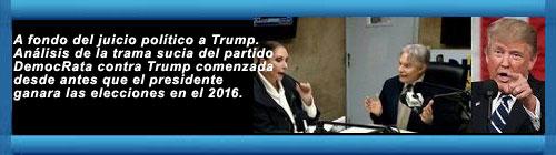 VIDEOS: Juicio político a Trump, Marxismo cultural, Martí, Cuba, Venezuela, Bolivia, Brazil, Rusia. Por Julio M. Shiling. cubademocraciayvida.org web/folder.asp?folderID=136