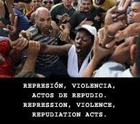 REPRESIÓN EN CUBA