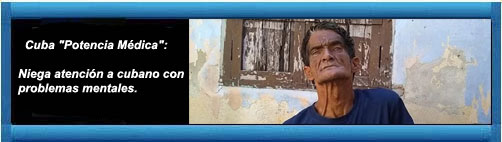 """Cuba """"Potencia Médica"""": Niega atención a cubano con problemas mentales. Escrito por Periódico Cubano.        cubademocraciayvida.org                                                                                                                                           web/folder.asp?folderID=136"""