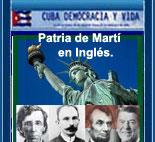PATRIA DE MARTÍ EN INGLÉS