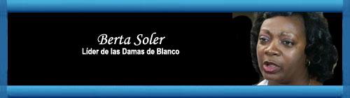 """CUBA AUDIO: Opiniones de Bertha Soler sobre declaraciones de Hillary Clinton. """"Esto no es una isla de placer..."""", recuerda la líder de las Damas de Blanco. web/folder.asp?folderID=136"""