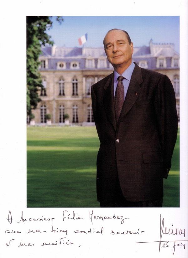 Adiós al gran Jacques Chirac. Por Félix José Hernández. cubademocraciayvida.org web/folder.asp?folderID=136