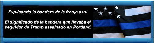 Patria de Martí: Explicando la bandera de la franja azul. El significado de la bandera que llevaba el seguidor de Trump asesinado en Portland. Escrito por Contando estrellas.    ht www.cubademocraciayvida.org                                                                                                                                                                                 web/folder.asp?folderID=136