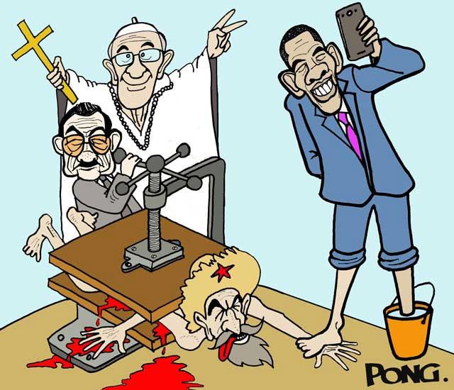 """""""ES TODO LO QUE TENGO QUE DECIR AL RESPECTO"""". Por Alfredo Pong.. Por Alfredo Pong. cubademocraciayvida.org web/folder.asp?folderID=136"""