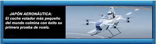 JAPÓN AERONÁUTICA: El coche volador más pequeño del mundo culmina con éxito su primera prueba de vuelo.         cubademocraciayvida.org                                                                                                              web/folder.asp?folderID=136