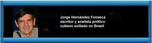"""Sobre el """"Debate por la Democracia en Cuba"""": Fines y Medios. Por Joge Hernández Fonseca.   CubaDemocraciayvida.org                                                                                         web/article.asp?artID=46033"""