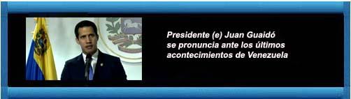 """VENEZUELA: Juan Guaidó rechazó la citación de la fiscalía chavista: """"Ni siquiera tiene funciones""""... cubademocraciayvida.org web/folder.asp?folderID=136"""