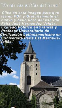 """Nuevo Libro N° 48: """"Desde las orillas del Sena"""". Tomo XXVII. Serie """"Cartas a Ofelia"""". Por Félix José Hernández."""
