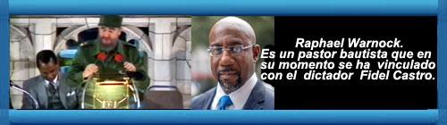Pastor Bautista, en su momento apandillado con Fidel Castro y hoy candidato al Senado de los EE. UU., se pronuncia por abrir las cárceles y crear una iglesia militante.             CubaDemocraciayVida.org                                                                                                                                                                                                                                                       web/folder.asp?folderID=136