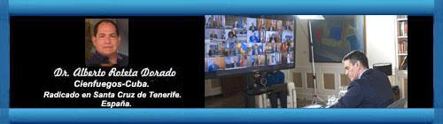 LA POLÍTICA ESPAÑOLA ANTE EL CORONAVIRUS. Por el Doctor Alberto Roteta Dorado. cubademocraciayvida.org web/folder.asp?folderID=136