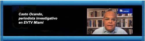 Venezuela videos EVTV: Carla Angola con Casto Ocando sobre le pelea entre los cárteles de droga. La coca se les quedó fría. ¿El compadre narco de Diosdado?           CubaDemocraciayVida.org                     web/article.asp?artID=44706