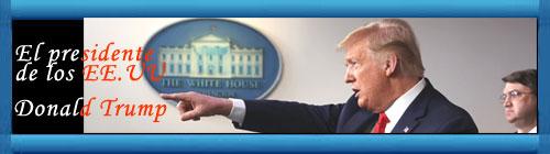 """La contundente respuesta del Excelentísimo Presidente de los EE.UU Donald Trump cuando le preguntaron por qué habla del """"virus chino"""". Donald ofreció una rueda de prensa en la Casa Blanca explicando los avances del combate contra el coronavirus COVID-19. cubademocraciayvida.org http://cubademocraciayvida.org/web/folder.asp?folderID=136"""