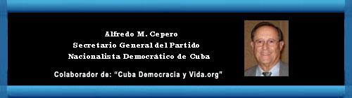 SOCIALISMO, OPORTUNISMO Y SUICIDIO. Por Alfredo M. Cepero. cubademocraciayvida.org web/folder.asp?folderID=136