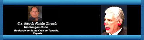 LA UNEAC, SU CONGRESO Y LOS PAPELAZOS DE DÍAZ-CANEL - l - Por el Doctor Alberto Roteta Dorado. cubademocraciayvida.org web/folder.asp?folderID=136