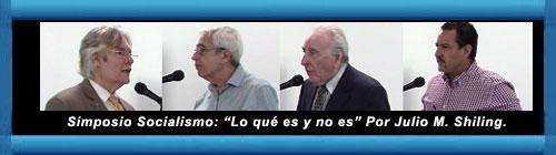 """VIDEOS del Simposio """"Socialismo: Lo qué es y no es"""". Por Julio M. Shiling. cubademocraciayvida.org web/folder.asp?folderID=136"""