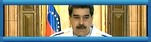 """VENEZUELA VIDEO: Nicolás Maduro llamó a Juan Guaidó """"prófugo de la Justicia"""" por la Operación Gedeón. El dictador venezolanos volvió a atacar al presidente encargado. No anunció, sin embargo, si planea encarcelarlo...         http://www.cubademocraciayvida.org                                                                                                                                                   web/folder.asp?folderID=136"""