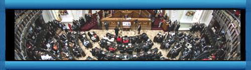 VENEZUEKA: La verdadera Asamblea Nacional venezolana aprobó desconocer que ilegítima constituyente de Mauro asuma sus funciones. En la sesión extraordinaria estuvo presente el cuerpo diplomático acreditado en el país. cubademocraciayvida.org web/folder.asp?folderID=136