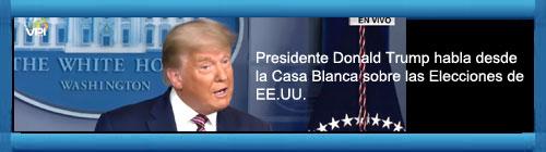 VIDEO EN VIVO EN ESPAÑOL: El Presidente Donald Trump habla desde la Casa Blanca sobre las Elecciones de EE.UU.         cubademocraciayvida.org                                                                                                                                                                  web/folder.asp?folderID=136