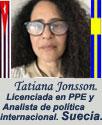 TATIANA JONSSON: ARTÍCULOS Y OPINIONES.