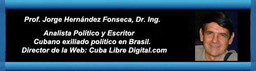 """La parte honesta de la izquierda latinoamericana se disculpa: """"Silencio, Cuba"""" Por Jorge Hernández Fonseca.                        cubademocraciayvida.org                                                                                           web/folder.asp?folderID=136"""