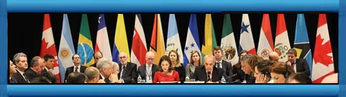 """El Grupo de Lima exigió al régimen de Maduro un nuevo calendario electoral y un corredor humanitario. """"No pueden haber elecciones libres y justas sin la plena participación de los partidos políticos"""", declaró la canciller peruana. cubademocraciayvida.org web/folder.asp?folderID=136"""