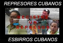 Cuba: PÁGINA PARA QUE REGISTRE UN REPRESOR O ESBIRRO DE LA TIRANÍA DE LOS CASTRO.