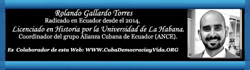Golpe de Estado Blando en Ecuador. Por el Lic. Rolando Gallardo Torres. cubademocraciayvida.org web/folder.asp?folderID=136
